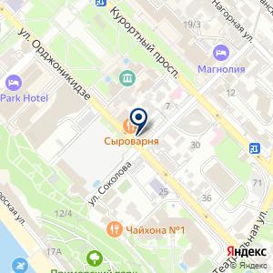 «ХБ» на карте