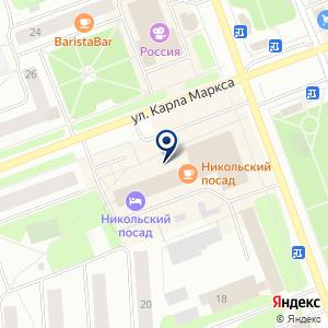 «Деловой Центр» на карте
