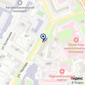 «Департамент труда и социальной поддержки населения Ярославской области» на карте