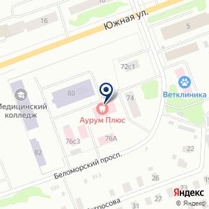 «Аурум Плюс» на карте