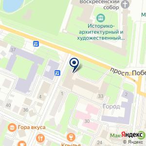 «Фабрика Грёз» на карте