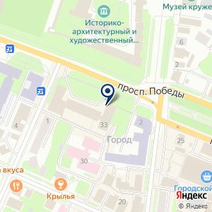 «Магистраль» на карте