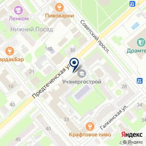 «Вологдаводресурсы» на карте