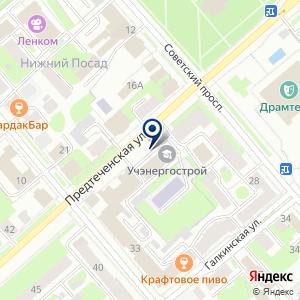 «Капитал Строй Проект» на карте