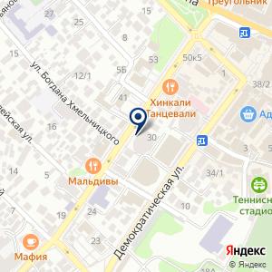 «Сервис-ЮГ-ККМ» на карте