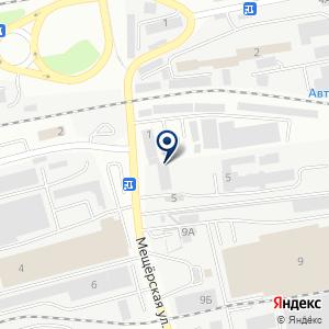 «Визон» на карте