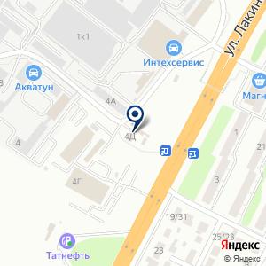 «Ключ585» на карте