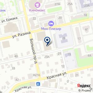 «Энергосбыт Волга» на карте