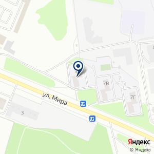 «Муравей» на карте