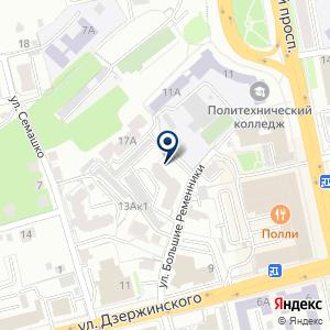 «Аверс» на карте