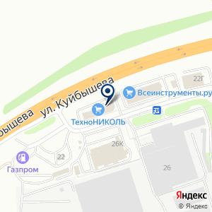 «PROFTOOL» на карте