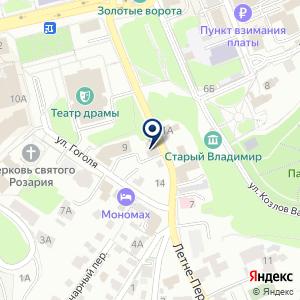 «Владпромтекс» на карте