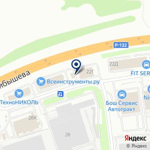 «Магазин крепежных изделий» на карте