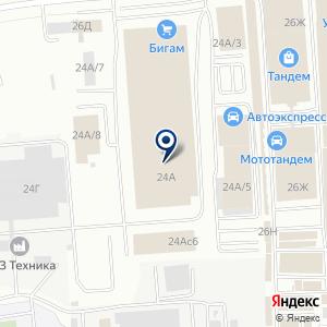 «ТехноНИКОЛЬ» на карте