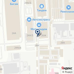 «Электрод» на карте