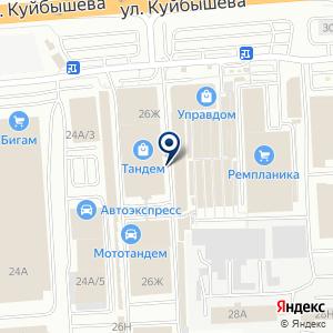 «Сеть специализированных магазинов инструментов» на карте