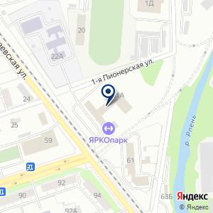 «Медицинский центр на Мира 61» на карте