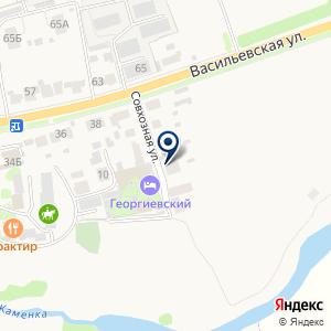 «Васильевский дворик» на карте
