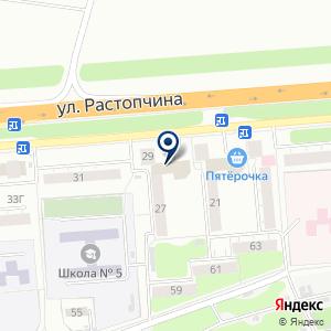 «КРАСКА-33» на карте