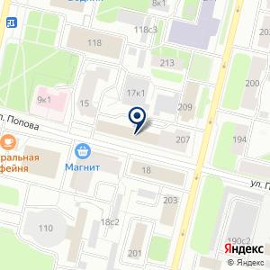 «Бюро технической инвентаризации» на карте