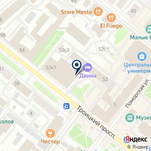 «Сигма» на карте