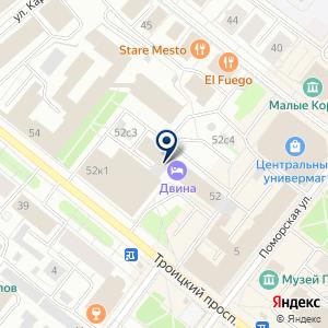 «Архангельская торгово-промышленная палата» на карте
