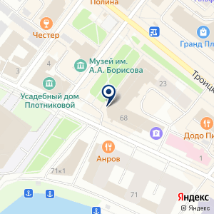 «Архангельская слобода» на карте