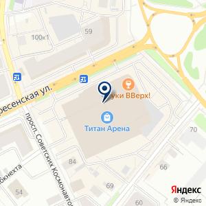 «АРХИнвест Банк» на карте