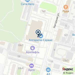 «Алгоритм-Сервис» на карте