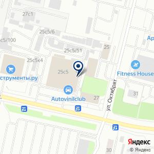 «МЕГАавто» на карте
