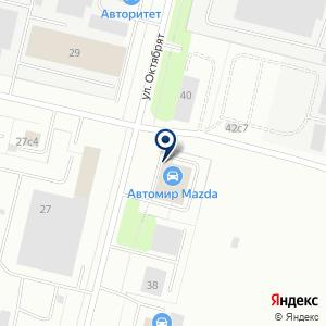 «Автомир» на карте