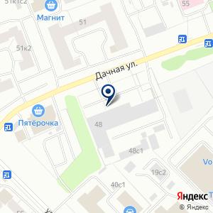 «Группа М» на карте