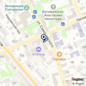 «РеалСтрой» на карте