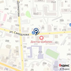 «Молоток» на карте