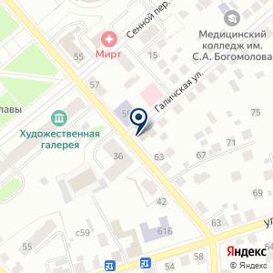 «Комфорт Хаус» на карте