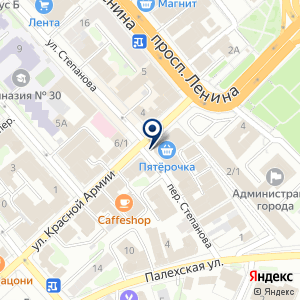 «Бизнес-Гарант» на карте