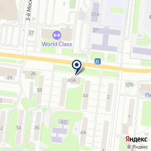 «Детские товары» на карте