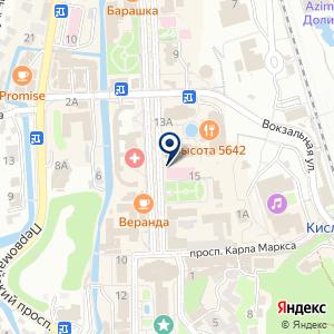«Курортная поликлиника» на карте