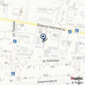 «Торгово-сервисная компания» на карте