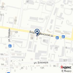 «Автотест» на карте