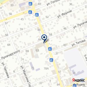 «Аптечный склад» на карте