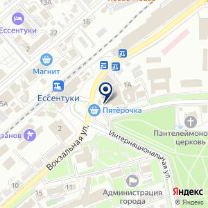 «Аква-Фарм» на карте