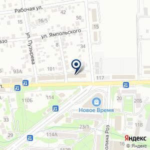 «Пиранья» на карте