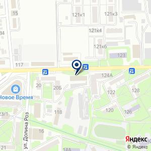 «Пятигорскторгтехника ПАО» на карте