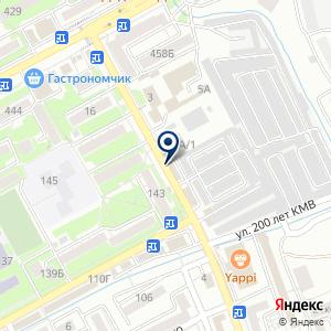 «Ингосстрах-М» на карте