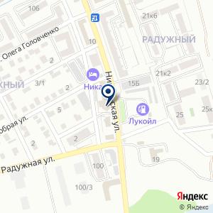 «Уран» на карте