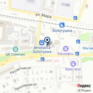 «ЭМСИПИ-Медикейр» на карте