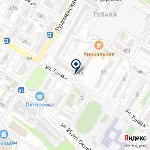 «Союз-Тест» на карте