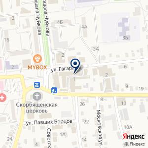 «Агентство недвижимости» на карте