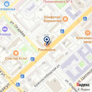 «Волгоградская торгово-промышленная палата» на карте